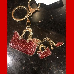 Red Shoe/purse keychain